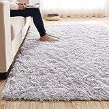 OR&DK Ultra Soft Shaggy Bereichs-wolldecke, Dick Wohnzimmer Schlafzimmer Fußmatten Kinderzimmer Rutschfest Teppich läufer-I 160x200cm(63x79inch)