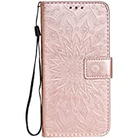 Funda de cuero para Oppo Reno4Pro 5G PU cuero magnético Flip Cover con ranuras para tarjetas Bookstyle Wallet Case para Oppo Reno4Pro 5G - JEKT033159 Oro rosa