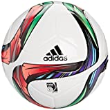 adidas Replika Ball Conext 15, Top-White/Night Flash S15/Flash Green S15/Black Bottom-Silver Met/Bold Red/Flash Red S15/Light Blue, 4, M36883