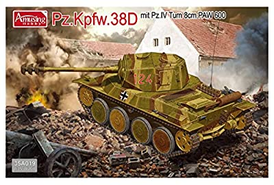 Panzer 38D mit Panzer IV Turm - Amusing Hobby von Amusing Hobby