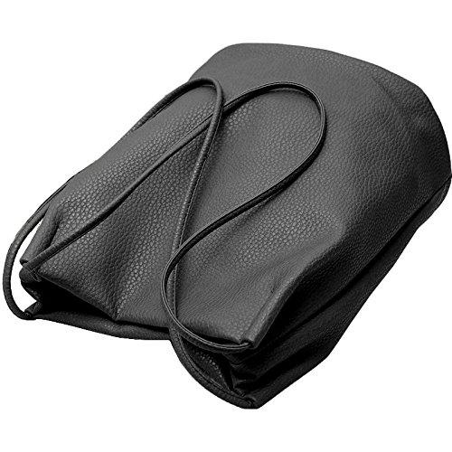lecxci - Sacchetto donna nero