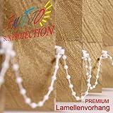 Lamellenvorhang nach Maß/Preis pro m²/Schiebevorhang Lamellen Jalousie Lamellenvorhänge Vertikaljalousien