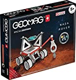 Geomag- Special Edition Rover NASA Construcciones Magnéticas, Color (Blanco/Gris/Rojo/Azul), 52 Unidades (809)