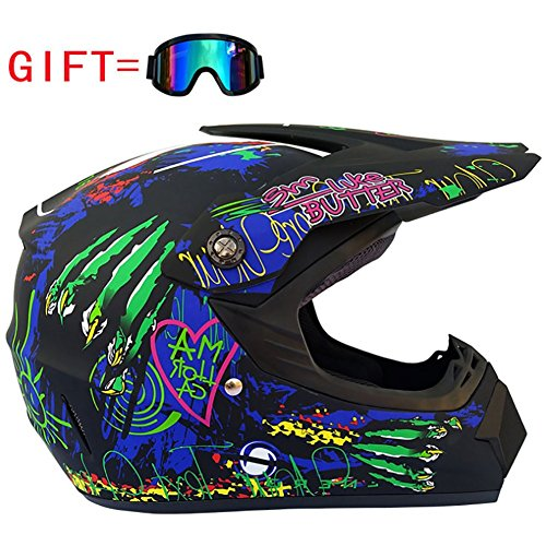 Adult Offroad Helm, Mountainbike, Beach Motocross Helm,A,L