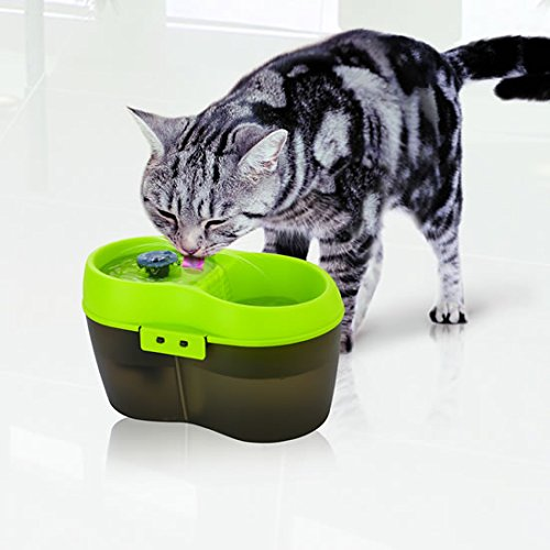 Cat Fresh Water Drinking Fountain, Multi Level for all Kinds of Cats. New to the UK