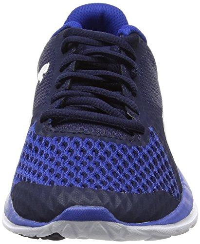 Puma Unisex-erwachsene Flex T1 Rivelano Sneaker Blau (turchese Mare-puma Bianco-peacoat)