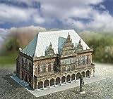 aue-verlag 30x 20x 20cm Old Town Hall Bremen Germany Model Kit