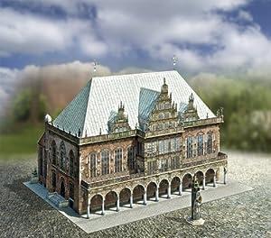 aue-verlag 30x 20x 20cm) antiguo Ayuntamiento Bremen Alemania modelo kit