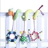 JYSPORT Baby Kinderbett Spielzeug–und Activity Spirale um Buggy Mobile Auto Sitz Spielzeug–Bett aufhängen New Infant Plüsch Toys–mit 0–36Monate Baby, Clown