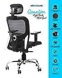 SAVYA HOME Apex AM-5021 Quantum Medium Back Office Chair with Mesh Seat