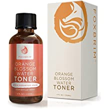 Foxbrim Orange Blossom Water Toner - 100% Natural Alcohol-Free Face Toner - Imported from Morocco - 120mL/4.oz by Foxbrim