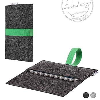 Handy Tasche AVEIRO Filz Hülle Case grün