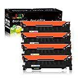 EBY 4 Cartouches de Toner XL Compatibles T K404S, CLT C404S, CLT M404S et CLT Y404S pour Samsung CLT P404C Xpress C430 C430W C480 C480W C480FN C480FW