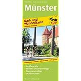 Münster: Rad- und Wanderkarte mit Ausflugszielen, Einkehr- & Freizeittipps, wetterfest, reissfest, abwischbar, GPS-genau. 1:50000