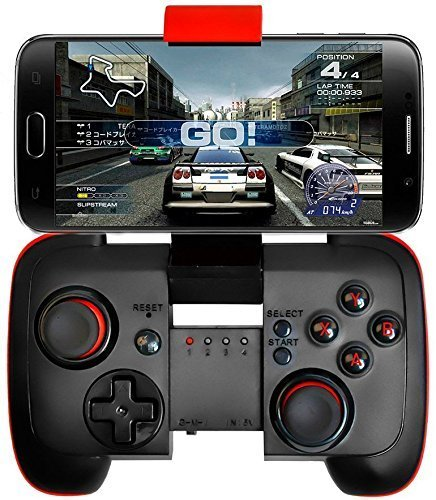 PowerLead Wireless Bluetooth Game Controller voor Android mobiele telefoon/tablet/Samsung Gear VR/Game Boy emulator (Bluetooth-sender Drucker Für)