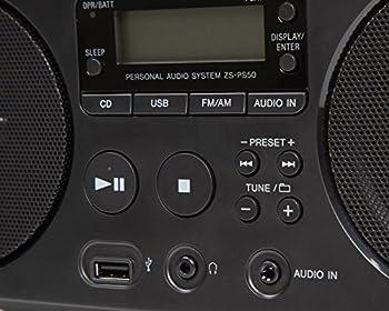 Sony Zsp-s50 Cdusb Radiorekorder (Amfm) 6