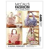 McCall 's Patterns M4400One Size Nur Handtaschen, Taschen, Hut und Accessoires, weiß, 1Stück