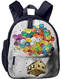 Colorful Ballom Kid and Toddler Student Backpack School Bag Super Bookbag