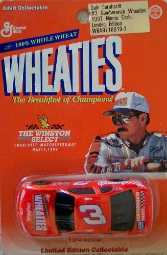 the-winston-select-dale-earnhardt-3-1997-monte-carlo-wheaties-limited-edition-164-scale-stock-car-by