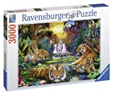 Ravensburger 17057 - Tiger am Wasserloch - 3000 Teile Puzzle