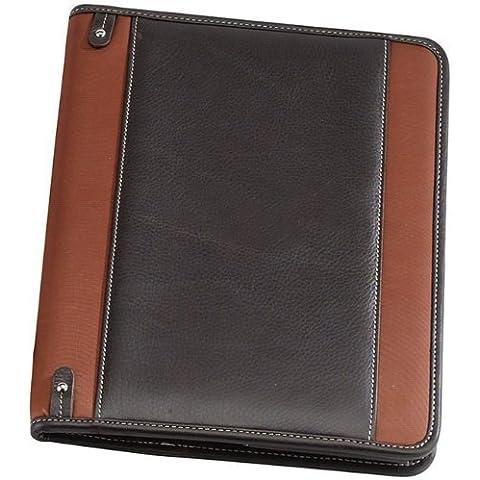 Bellino Deluxe Napa Leather Executive Padfolio Note Pad, Rust by Bellino - Deluxe Padfolio