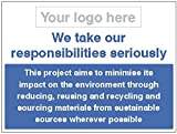Caledonia Schilder 26683K Schild, Abfall management-responsibility