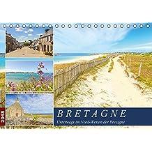Bretagne - Unterwegs im Nord-Westen (Tischkalender 2018 DIN A5 quer): Fotoimpressionen aus dem Nord-Westen der malerischen Bretagne (Monatskalender, ... Orte) [Kalender] [Apr 16, 2017] Heuvers, Elly