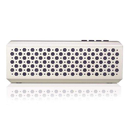 NAERFB Wireless Bluetooth Lautsprecher praktisch Elegante Bluetooth Audio Metall Schlanke Lautsprecher