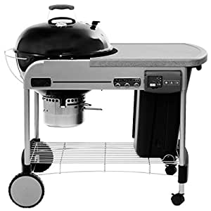 Weber 1481004 performer deluxe charcoal barbecue amazon for Weber performer deluxe