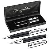 Ferraghini Schreibset F19303 * mit Kugelschreiber und einem Rollerbal