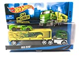 Hot Wheels City Rig Truck with Car Included