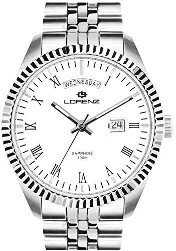 Lorenz Ginevra 030119AA - Reloj automático con correa jubilee