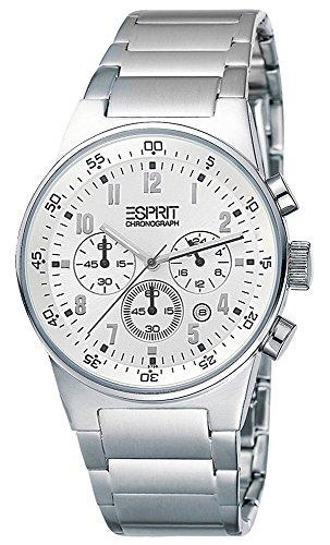 Esprit Herren-Armbanduhr Analog Quarz Edelstahl ES000T31022