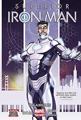 Superior Iron Man Vol. 1: Infamous (Iron Man Comic Book 1)