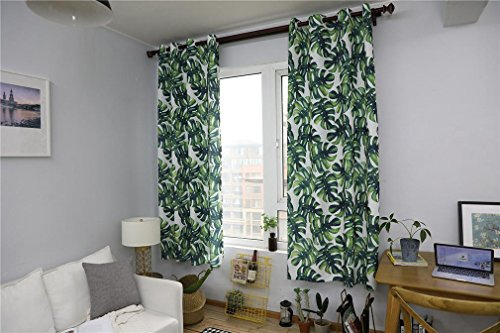 Thermische isolierte Verdunkelungs-Fenster-Vorhänge - feste Raum-Verdunklungs-Rausch-verringernd drapiert für Kindertagesstätte, 1 Paar, 140 * 215CM