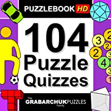 104 Puzzle Quizzes HD (Interactive Puzzlebook for Tablets)