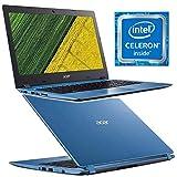 Acer Aspire 1 A114-31-C98L - Ordenador portátil de 14' (Intel Celeron N3350, 2GB de RAM, 32GB Memoria Interna, Windows 10) Color Azul
