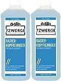 7Zwerge Rasierkopfreiniger Reinigungs Nachfüll Flüssigkeit für Philips Jet und Smart Clean Rasierer (2 x 1000 ml)