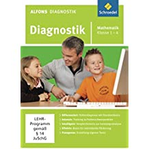 Alfons Diagnostikprogramme - Ausgabe 2011: Diagnostik Mathematik 1 - 4