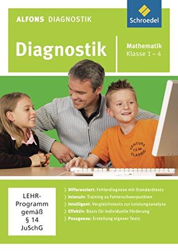 Preisvergleich Produktbild Alfons Diagnostikprogramme - Ausgabe 2011: Diagnostik Mathematik 1 - 4