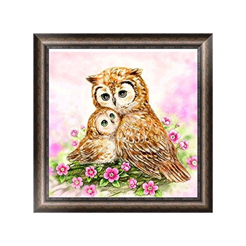 Dairyshop DIY Hibou Animal 5d Diamant Broderie Peinture Strass point de croix Home Decor