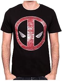 Tshirt Deadpool Marvel - Logo Metal