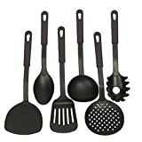 #10: NK-STORE's 6 Pcs/Set Nylon Heat-Resistant Nonstick Spoon Spatula Turner Scoop Kitchen Cooking Utensil Tools Set