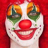 Naso clown morbido economico in gomma da pagliaccio
