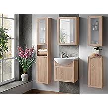Suchergebnis auf Amazon.de für: günstige badmöbel sets | {Badezimmermöbel set günstig 80}