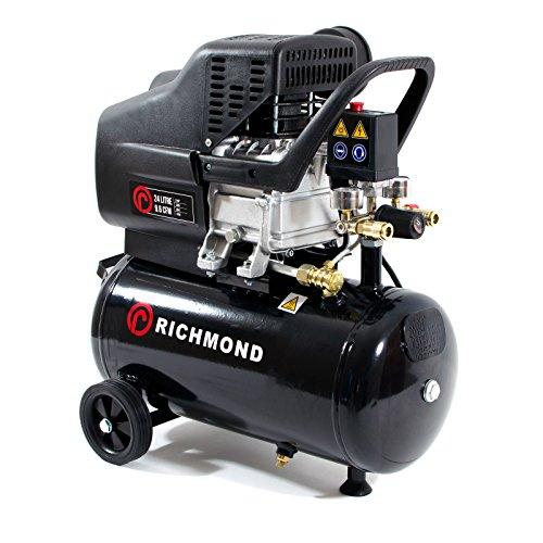 24L Luftkompressor - 9.6 CFM, 2.5 HP, 1.5 KW, 230V, 24L, 115 PSI