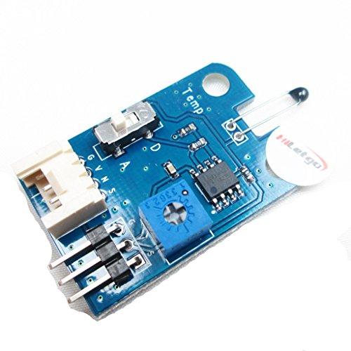 hiletgo Signal Analogique Capteur de température 3broches/4broches pour Arduino UNO Pic AVR MCU DSP