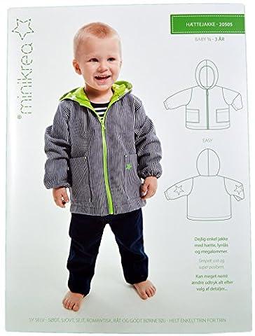 Schnittmuster Jacke für Babys & Kinder / Gr. 74-98cm /