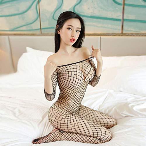 Kostüm Frauen Baby Doll - Cosplay Mesh Sexy Kostüme Porno Teddy Transparent Erotic Baby Doll Sexy Dessous Frauen Plus Size Sex Kleidung Unterwäsche