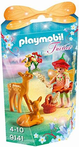 Playmobil Hadas-9141 Niña con Ciervos